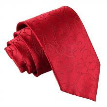 Burgundy, virvelmönstrad slips