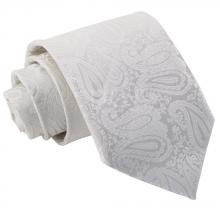 Ivory, paisleymönstrad slips