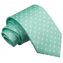 Mintgrön polka dot slips