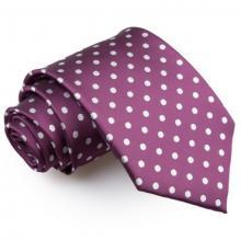Mörklila polka dot slips