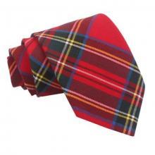 Tartan ruudullinen solmio_Punainen Royal Stewart