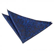 Taskuliina-musta-sininen, pyörrekuvioinen