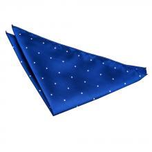 Sininen pin dot taskuliina